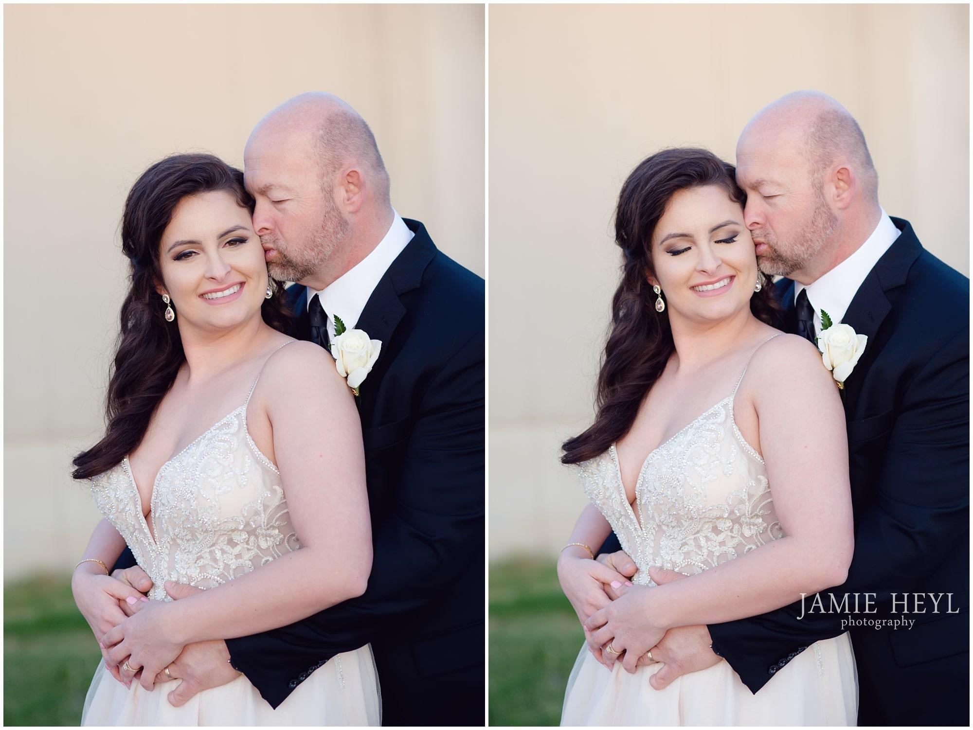 Morgan City bride and groom photos