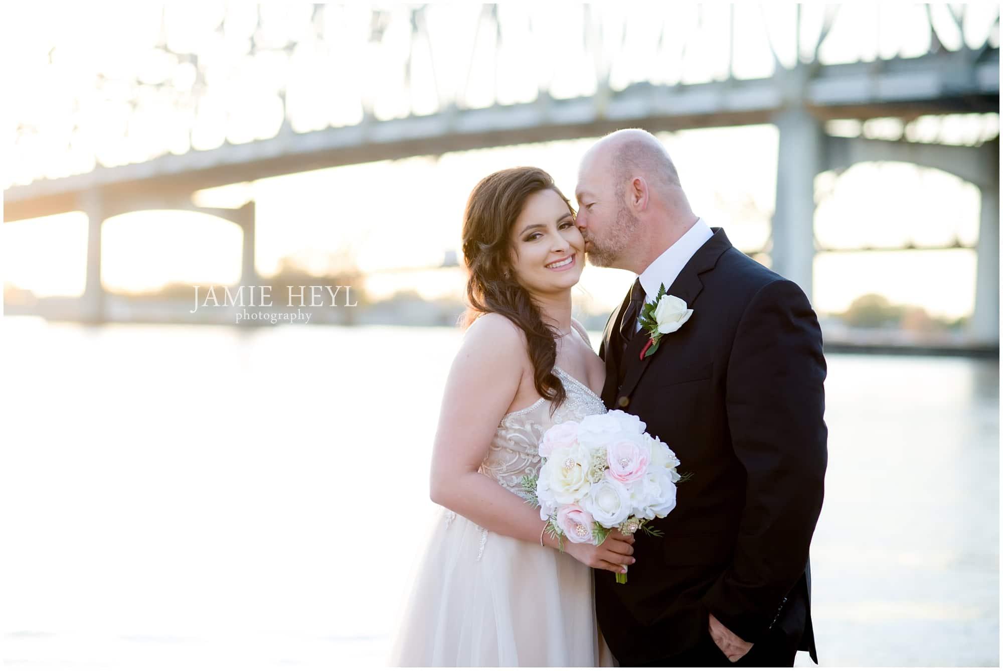 Morgan City bride and groom pic