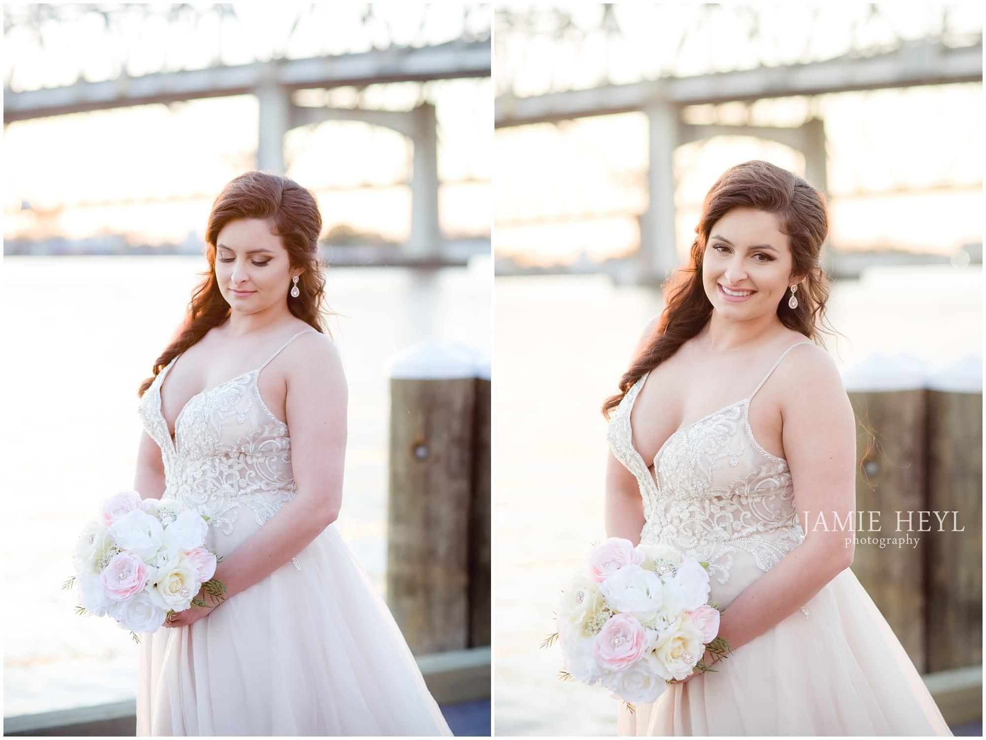 Morgan City Riverfront bride