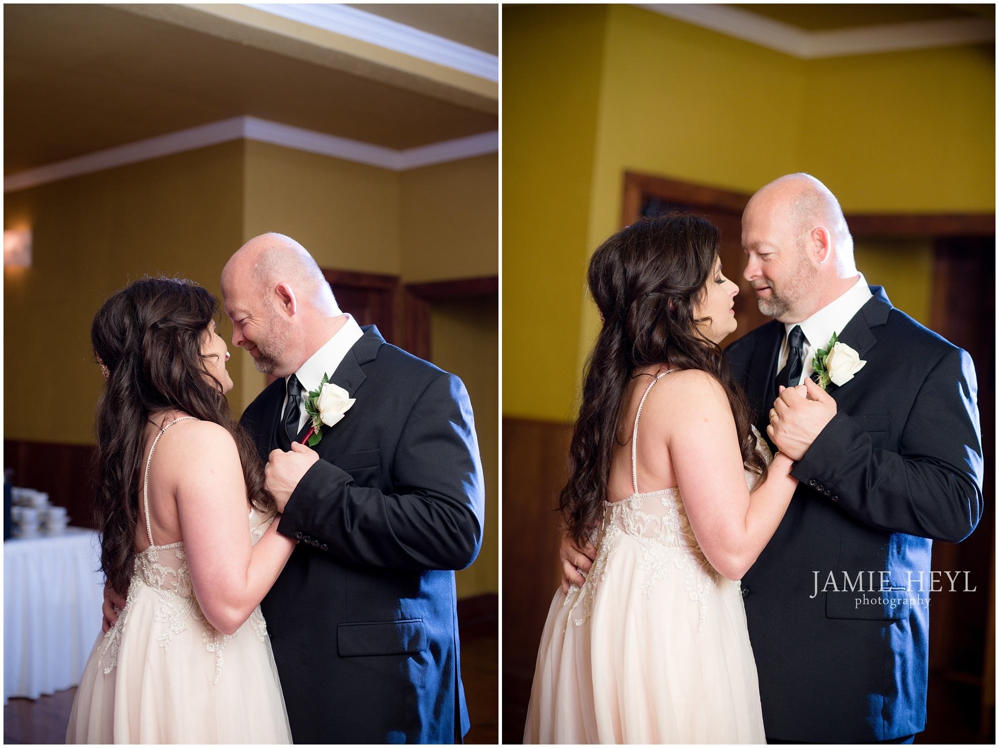 River Room Morgan City bride and groom