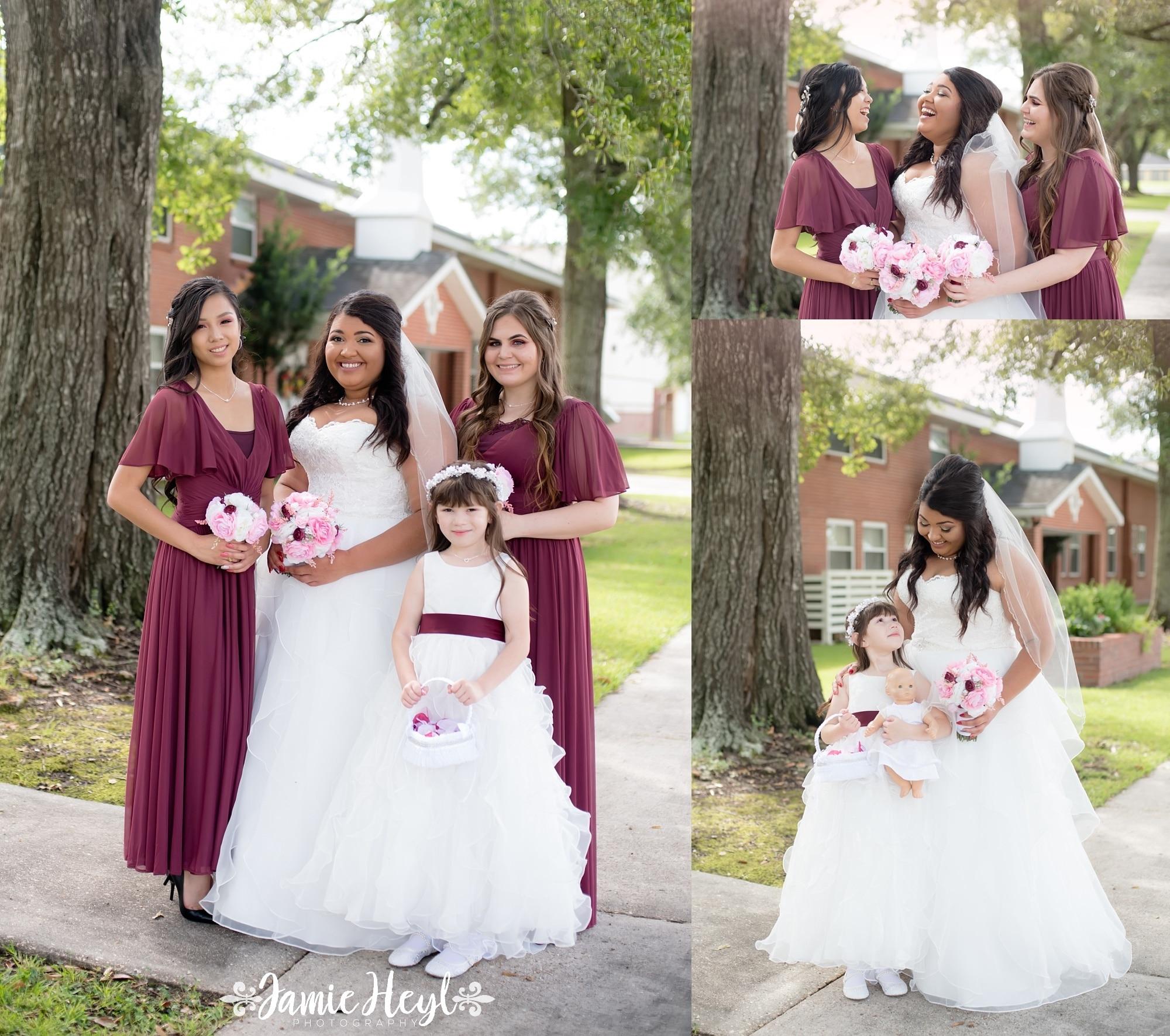 Bayou Vista Wedding Photographer