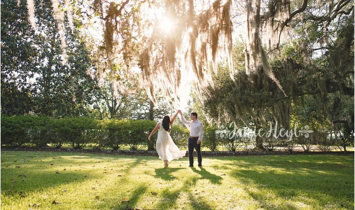 Southern Engagement Photos Louisiana